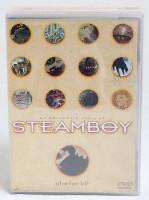 STEAMBOY Starter Kit Set Of DVD T-shirt Sticker Katsuhiro Otomo JAPAN ANIME