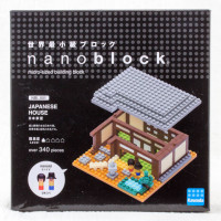 Japanese House Kawada Nanoblock Nano Block NBI-001 JAPAN ANIME MANGA
