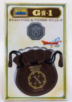 Dragon Quest Boss Coin Bazuzu +Drawstring Bag SQUARE ENIX JAPAN WARRIOR