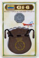 Dragon Quest Boss Coin Baramos +Drawstring Bag SQUARE ENIX JAPAN WARRIOR
