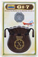 Dragon Quest Boss Coin King Hydra +Drawstring Bag SQUARE ENIX JAPAN WARRIOR