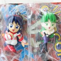 SNK VS Capcom Morrigan & Nakoruru Figure Mascot Vampire Savior JAPAN