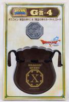 Dragon Quest Boss Coin Three Monsters +Drawstring Bag SQUARE ENIX JAPAN WARRIOR
