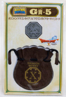 Dragon Quest Boss Coin Dragon Gaia +Drawstring Bag SQUARE ENIX JAPAN WARRIOR