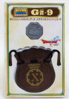 Dragon Quest Boss Coin Metal King Slime+Drawstring Bag SQUARE ENIX JAPAN WARRIOR