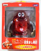 Ganbare!! Robocon Clear Red ver. Alarm Clock Figure Banpresto JAPAN ANIME MANGA