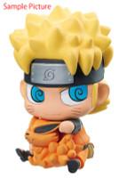 NARUTO Naruto Uzumaki Chimi Mega Soft Vinyl Series Figure Megahouse JAPAN ANIME MANGA