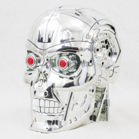 T2-3D Terminator USJ Universal Stuidos Japan Head Figure Case JAPAN