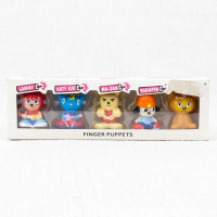 Parappa The Rapper Unjammer Lammy All Star Finger Puppet 5pc Set Figure JAPAN