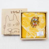 My Neighbor Totoro Neko Bus Cat Yellow Mini Towel Ghibli JAPAN ANIME MANGA