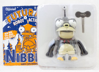 Futurama NIBBLER Tin Robot Action Toy Figure WInd-Up Matt Groening