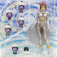 Ghost in the Shell 2 Motoko Kusanagi Silver Suits Figure Manmachine Interface