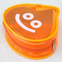 Dragon Quest Slime Clear Color Orange Mini Pouch Bag JAPAN GAME WARRIOR