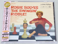 ROSEMARY CLOONEY Rosie Solves The Swingin' Riddle!  Japan CD K2 24bit Mastering