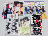 Set of 7 Taiho-Shichauzo / You're Under Arrest  JAPAN 8cm CD 3inch ANIME MANGA