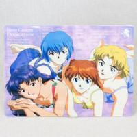 Evangelion Asuka Rei Misato Ritsuko Plastic Pencil Board Pad Shitajiki JAPAN