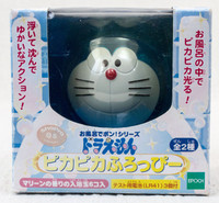 Doraemon Pikapika Furoppi Face Figure Toy in Bath JAPAN ANIME MANGA