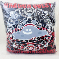 Dragon Quest Warrior Monster Battle Scanner Liquid metal slime Cushion Pillow