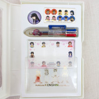 Rurouni Kenshin Stationery Goods Set Card Case Ballpoint Pen Pins JAPAN ANIME