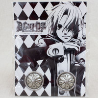 RARE! D.Gray-man Black Order Button 2pc Set JAPAN ANIME MANGA JUMP