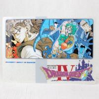 Dragon Quest 4 Plastic Pencil Board Pad Shitajiki Toriyama Akira Warrior JAPAN