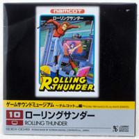 Rolling Thunder Game Sound Museum Namco #10 Music 8cm CD JAPAN FAMICOM NINTNEDO