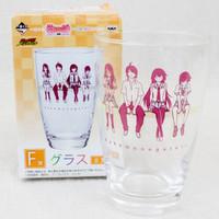 Bakemonogatari Glass Hitagi Senjogahara Hanekawa Araragi Kanbaru JAPAN ANIME