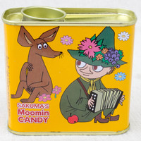 Moomin Sakuma's Candy Can Snufkin Sniff JAPAN