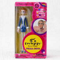 Twiggy Collection Mini Figure Polka Dots Medicom Toy JAPAN