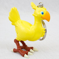 Final Fantasy VII 7 Chocobo Figure Key Chain Banpresto JAPAN SUARE ENIX