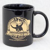 Guitar Freaks & Drum Mania Masterpiece Gold Mug Black JAPAN GAME