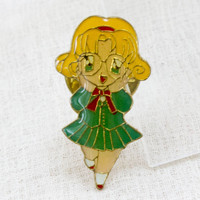 Magic Knight Rayearth Metal Pins Badge Fuu Hououji JAPAN ANIME MANGA