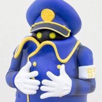 Galaxy Express 999 Conductor Shasho Figure Animax Special Kuji JAPAN ANIME MANGA