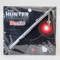 RARE! HUNTER x HUNTER Phantom Rouge Ballpoint Pen Curarpikt Chain JAPAN ANIME