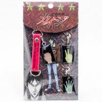 KAIJI Ultimate Survivor Janken Rock Paper Scissors Charm Mobile Strap JAPAN