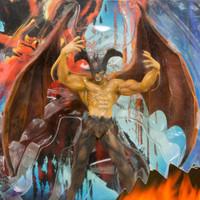 Devilman Winged Devilman Dynamic Action Figure Marmit JAPAN ANIME MANGA