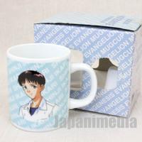Evangelion Shinji Ikari School Uniform Mug SEGA 1997 JAPAN ANIME MANGA