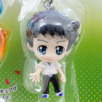 Evangelion School Petit EVA Shinji Ikari Figure & Beads Strap JAPAN ANIME MANGA