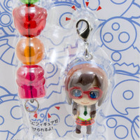 Evangelion School Petit EVA Mari Illustrious Figure & Beads Strap JAPAN ANIME