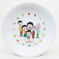 "Chibi Maruko Chan Family Design Plate 8"" Hagoromo JAPAN ANIME SAKURA MOMOKO"