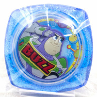 Disney Pixar Toy Story Capsule Mirror Buzz Lightyear Peony Tsubaki JAPAN