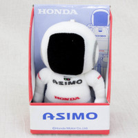 "Asimo HONDA Humanoid Robot Mini Plush Doll 3.5"" Ballchain JAPAN"