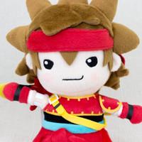 "Dragon Quest X Zankrone 11"" Plush Doll Square Enix JAPAN WARRIOR GAME"