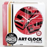 Nintendo Famicom Family Computer Art Wall Clock Red Ver. JAPAN NES