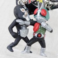 Kamen Maked Rider VS. Shocker Figure Key Chain JAPAN ANIME TOKUSATSU