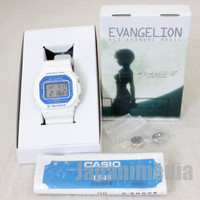 Evangelion Rei Ayanami Model Limited CASIO G-SHOCK DW-5600VT JAPAN ANIME