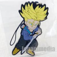 Dragon Ball Z SS Trunks Rubber Mascot Strap Banpresto WCF JAPAN ANIME MANGA