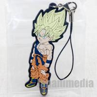 Dragon Ball Z SS Son Gokou Rubber Mascot Strap Banpresto WCF JAPAN ANIME MANGA 2