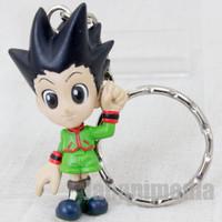 HUNTER x HUNTER Gon Freecss Mini Figure Key Holder Chain Banpresto JAPAN ANIME 2