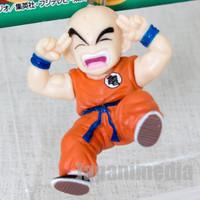 RARE Dragon Ball Z Krillin vs. Dodoria Figure Key Chain Banpresto JAPAN ANIME